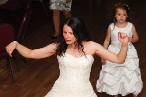 Bride Dancing Staffordshire Burntwood