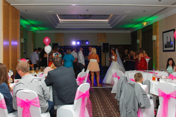 Dancing Guests wedding Djs Solihull