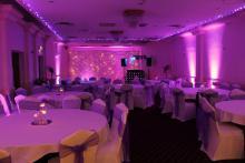 Pink Uplighters Birmingham