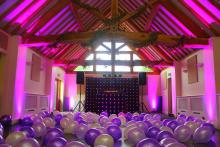 Mobile Disco with Balloons