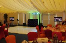 Mobile Disco in Tewkesbury and Led Dance floor