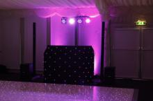 Uplighters with Mobile Disco Sutton Coldfield