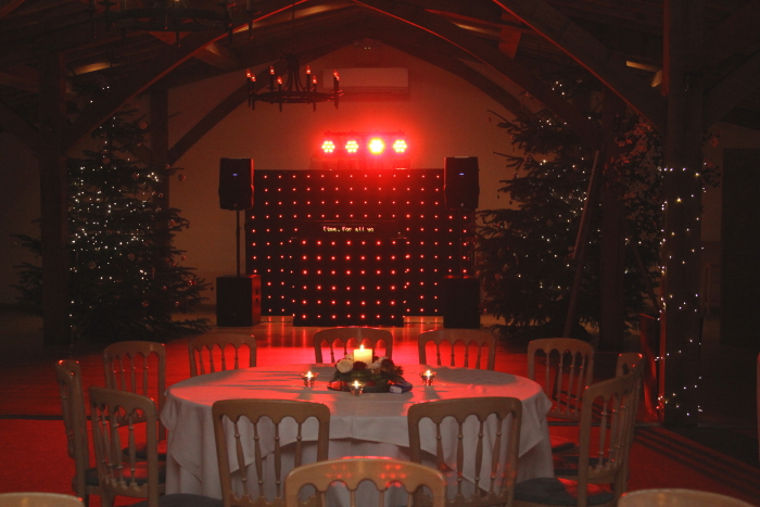 Mobile Disco Christmas time at Packington Moor Lichfield