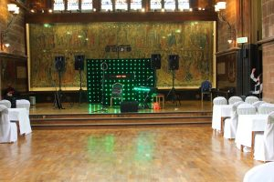 Mobile Disco In Coventry with A band