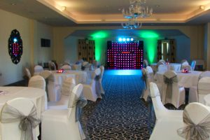 Mobile Disco with Uplighters In Leicester