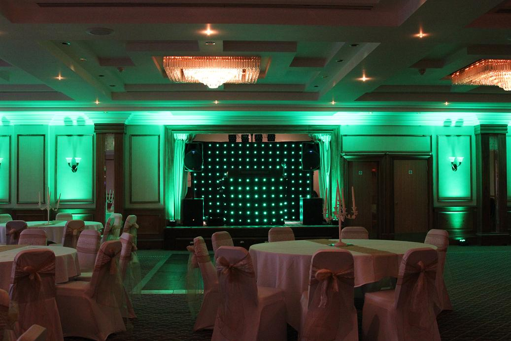 Mobile Disco with Uplighters Solihull